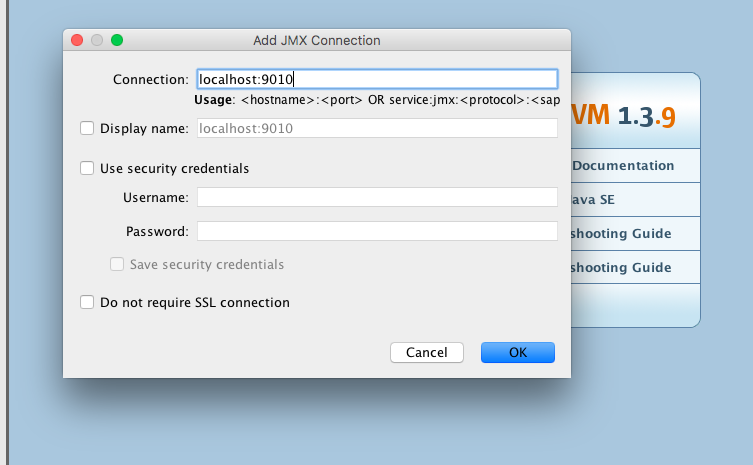 How to monitor a remote JVM over SSH with JVisualVM